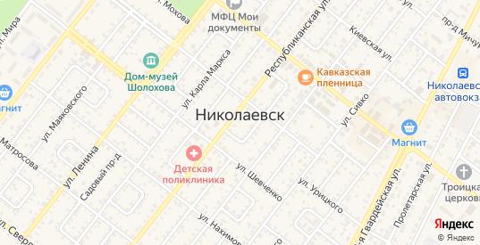 Проезд Петрова в Николаевске с номерами домов на карте. Спутник и схема онлайн