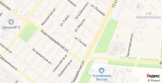 Улица Гоголя в Николаевске с номерами домов на карте. Спутник и схема онлайн
