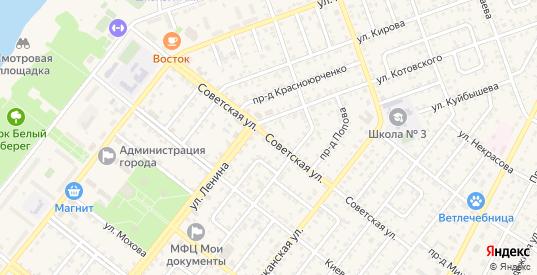 Советская улица в Николаевске с номерами домов на карте. Спутник и схема онлайн