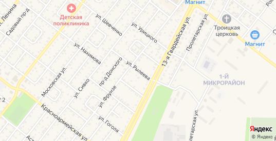Улица Рылеева в Николаевске с номерами домов на карте. Спутник и схема онлайн