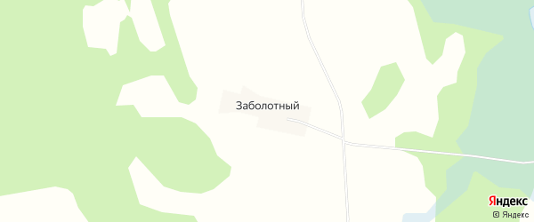 Карта Заболотного починка в Вологодской области с улицами и номерами домов