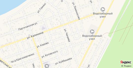 Улица Чапаева в Николаевске с номерами домов на карте. Спутник и схема онлайн