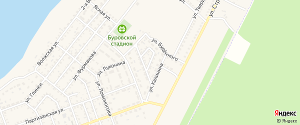 Проезд Энтузиастов на карте Николаевска с номерами домов