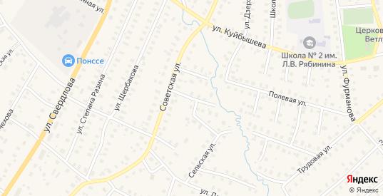 Советский переулок в Шарье с номерами домов на карте. Спутник и схема онлайн