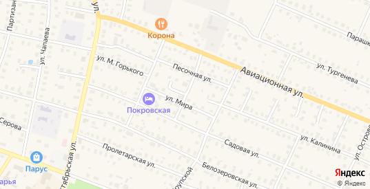Переулок Дорожников в Шарье с номерами домов на карте. Спутник и схема онлайн