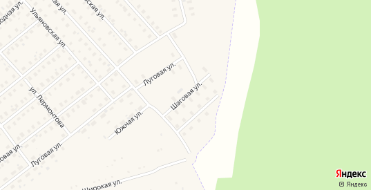 Шаговая улица в Шарье с номерами домов на карте. Спутник и схема онлайн