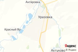 Карта с. Уразовка Нижегородская область