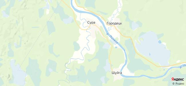 Прилук на карте