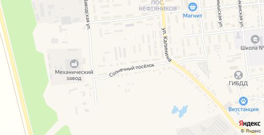 Солнечный поселок в Красноармейске с номерами домов на карте. Спутник и схема онлайн