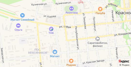 Карамышская улица в Красноармейске с номерами домов на карте. Спутник и схема онлайн