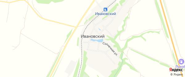 Карта Ивановского поселка в Саратовской области с улицами и номерами домов