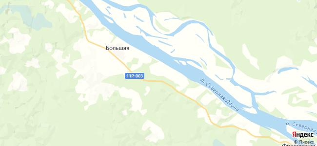 Ситковская на карте