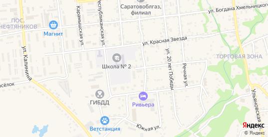 Улица Мичурина в Красноармейске с номерами домов на карте. Спутник и схема онлайн