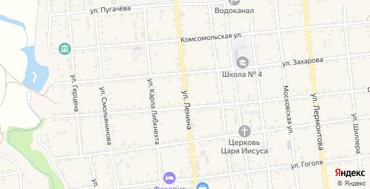 Улица Ленина в Красноармейске с номерами домов на карте. Спутник и схема онлайн