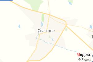 Карта с. Спасское Нижегородская область