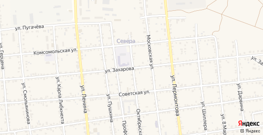 Улица Захарова в Красноармейске с номерами домов на карте. Спутник и схема онлайн