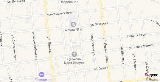 Советская улица в Красноармейске с номерами домов на карте. Спутник и схема онлайн