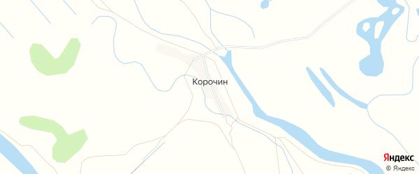 Карта хутора Корочина в Астраханской области с улицами и номерами домов