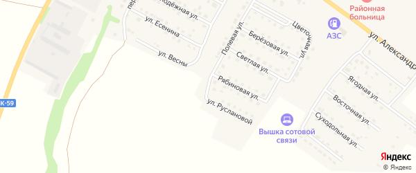 Улица М.Смирновой на карте Городища с номерами домов