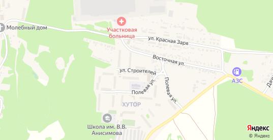 Улица Строителей в Сурске с номерами домов на карте. Спутник и схема онлайн