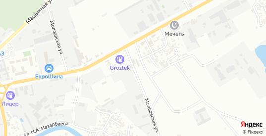 Молдавская улица в Грозном с номерами домов на карте. Спутник и схема онлайн