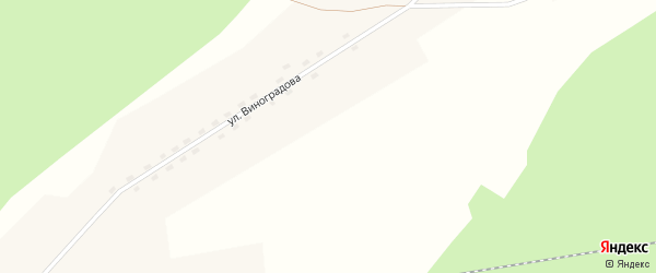 Заводская улица на карте поселка Ерги с номерами домов