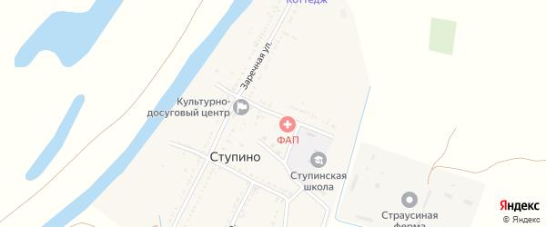 1 Мая улица на карте села Ступино Астраханской области с номерами домов