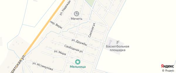 Трудовая улица на карте села Белгатой Чечни с номерами домов