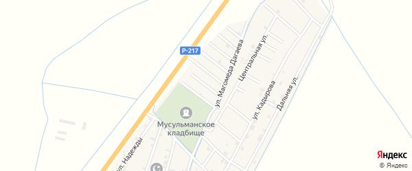 Улица Ибрехима Тимирбулатова на карте села Белгатой Чечни с номерами домов