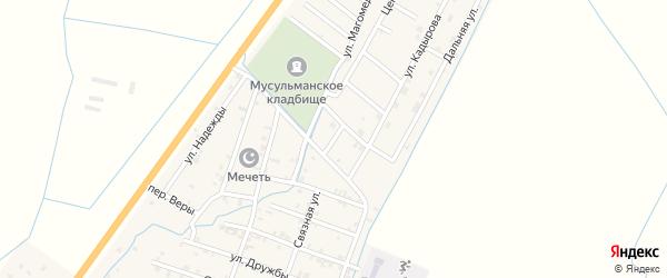 Улица Исмаила Ташахманова на карте села Белгатой Чечни с номерами домов