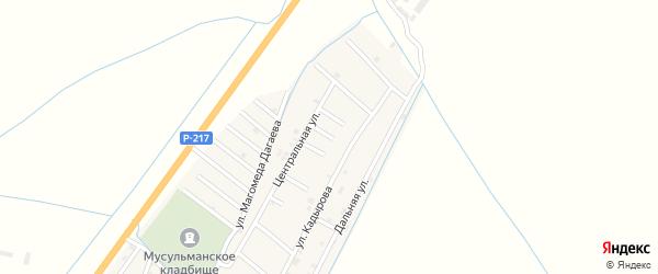 Улица Сала Асакова на карте села Белгатой Чечни с номерами домов