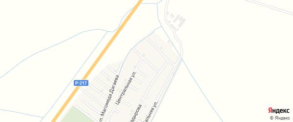 Родниковая улица на карте села Белгатой Чечни с номерами домов