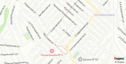 Сосновая улица в Саратове с номерами домов на карте. Спутник и схема онлайн