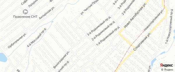 4-й Ягодный проезд на карте Саратова с номерами домов