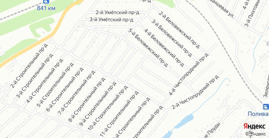 Пуловский 8-й проезд в Саратове с номерами домов на карте. Спутник и схема онлайн