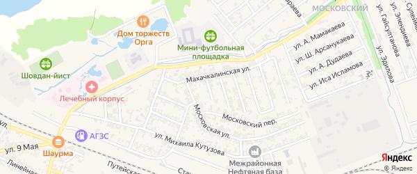 Терская улица на карте Аргуна с номерами домов