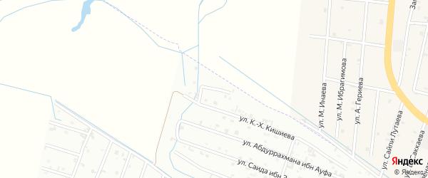 19-ая Параллельная улица на карте Шали с номерами домов