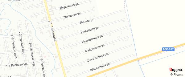10-я Космическая улица на карте Шали с номерами домов