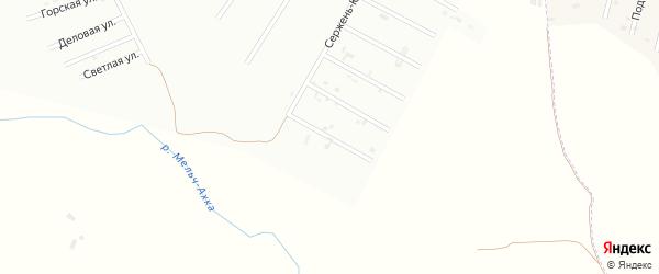 6-й Сержень-Юртовский переулок на карте Шали с номерами домов