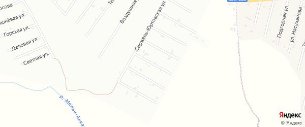 4-й Сержень-Юртовский переулок на карте Шали с номерами домов