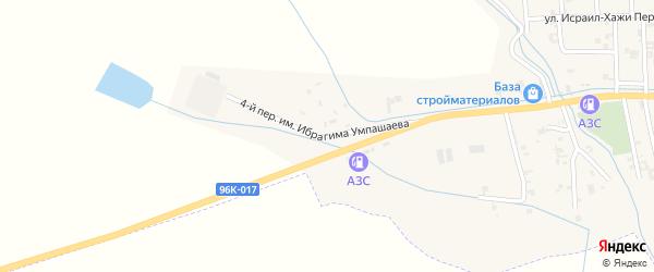 Улица Им.Ибрагима Умпашаева на карте села Автуры Чечни с номерами домов