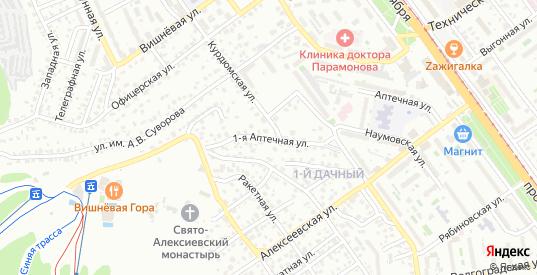 Офицерская 1-я улица в Саратове с номерами домов на карте. Спутник и схема онлайн