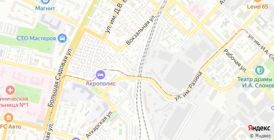 Аткарский тракт в Саратове с номерами домов на карте. Спутник и схема онлайн