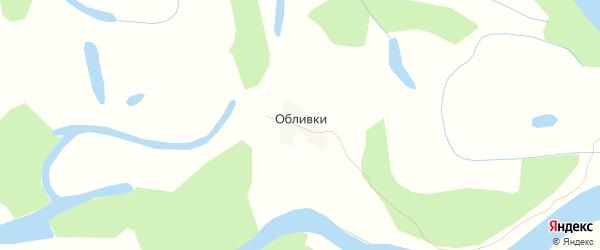 Карта населенного пункта Кордона Обливки города Ахтубинска в Астраханской области с улицами и номерами домов
