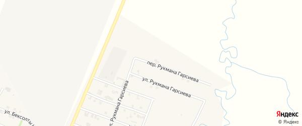 Переулок Рукмана Гарсиева на карте села Автуры Чечни с номерами домов