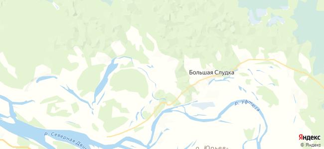 Бобровская на карте
