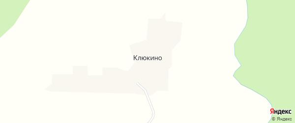 Ягодная улица на карте деревни Клюкино Вологодской области с номерами домов