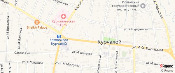 Улица Ленина на карте села Курчалой с номерами домов