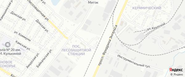 Улица Ж/д казарма 4 км на карте Энгельса с номерами домов