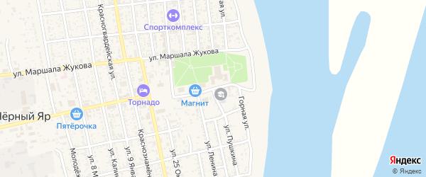 Площадь Ленина на карте села Черного Яра Астраханской области с номерами домов